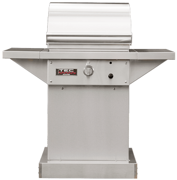 "TEC Grills - 26in Freestanding Sterling Patio FR Grill with Side Shelves (46"")"