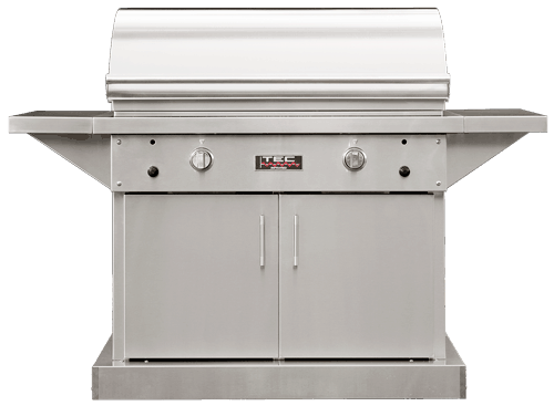 """TEC Grills - 44in Freestanding Sterling Patio FR Grill on Stainless Cabinet (64"""")"""