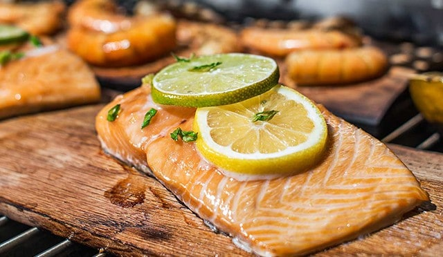 Seared Asian Soy Ginger Salmon - TEC Infrared Grills