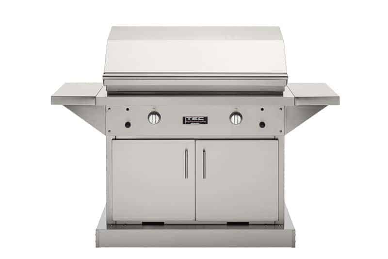 "TEC Grills - 44in Freestanding Patio FR Grill on Stainless Cabinet (64"")"