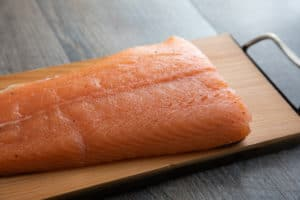 TEC Grills Hot Smoked Salmon - After Curing