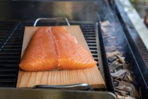 TEC Grills Hot Smoked Salmon - On the Grill