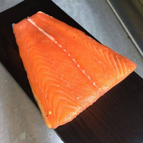 Best Wood Chips Smoking Salmon : Use a wood plank in addition to chips for extra smokiness