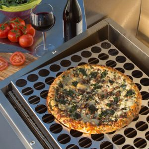 TEC Grills Infrared Pizza Rack Accessory for the Patio and Sterling Patio Grills