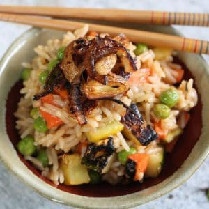 TEC Grills Griddle Fried Rice