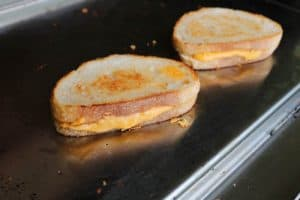 TEC Grills Griddle Grilled Cheese