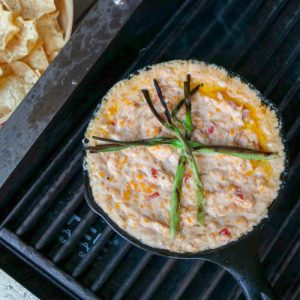 TEC Grills Tailgating Recipes - Hot Pimento Cheese Dip