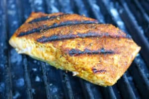 TEC Grills -Grill Resolution: Curry Salmon