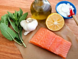 TEC Grills -Grill Resolution: Curry Salmon with Mint Yogurt Sauce Ingredients