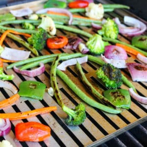 TEC Grills Infrared Grill Tray - Grilled Vegetables