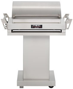TEC Grills - G-Sport Grill on Stainless Pedestal