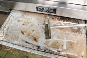 How to Clean your TEC Grill - Clean the Drip Tray