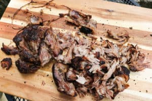 TEC Grills Pulled Pork - Pulling the Pork