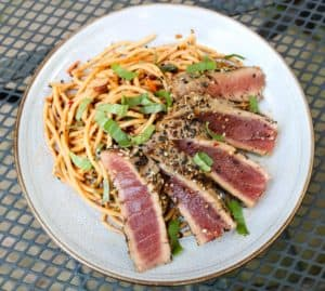 TEC Grills Sesame Everything Tuna Steak