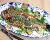 TEC Grills -Grilling Whole Fish - Fish on a Platter