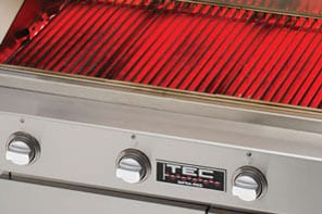 TEC Grills - No Hot or Cold Spots