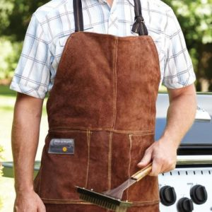 TEC Grills Holiday Gift Guide - Outset Leather Apron