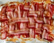 TEC Grills Favorite Bacon Recipes - Bacon Weave