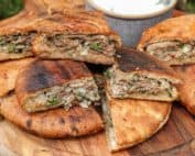 TEC Grills Burger Recipes - Lamb Pita Burgers with Yogurt Mint Sauce