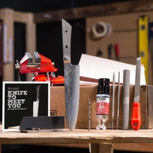 TEC Grills Grilling Gifts for Fathers Day - Chef Knife Making Kit