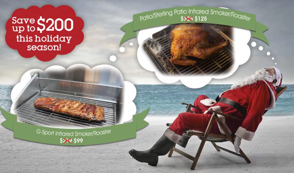 TEC Grills 2018 Holiday Promotion Smoker/Roaster