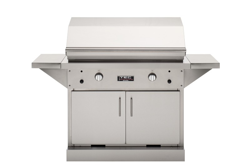 TEC Grills - 44in Freestanding Patio FR Grill on Stainless Cabinet (64