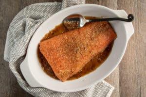TEC Grills Hot Smoked Salmon - With Salt and Sugar Rub