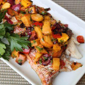 TEC Grills - Summer Peach and Mango Salsa Recipe