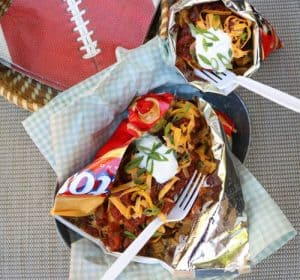 TEC Grills Tailgating Recipes - Frito Chili Pie