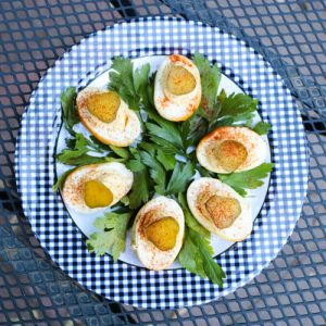 TEC Grills Tailgating Recipes - Smoked Deviled Eggs