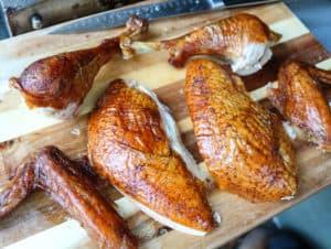 TEC Grills - Perfect turkey carving