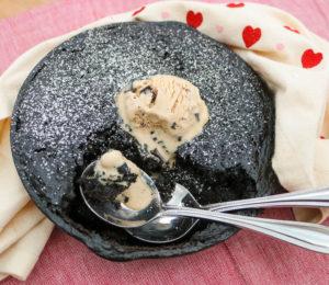 TEC Grills Romantic Italian Dinner - Chocolate Skillet Cake