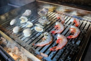 TEC Grills Infrared Grill Tray - Shrimp and Other Shellfish