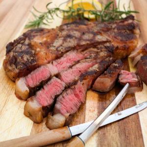 TEC Grills Romantic Italian Dinner - Grilled Ribeye Steaks