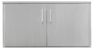 TEC Grills - 44in Double Access Doors for Outdoor Kitchens