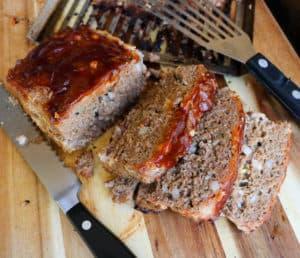 TEC Grills Infrared Meatloaf Pan - BBQ Meatloaf Recipe