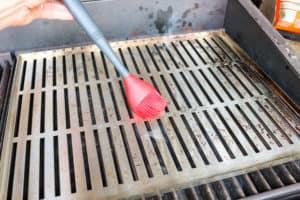 TEC Grills -Grilling Whole Fish - Oiling the Grill Grates
