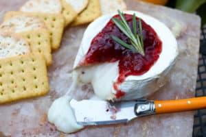 TEC Grills Salt Block Grilling Recipes and Tips - Salt Block Brie