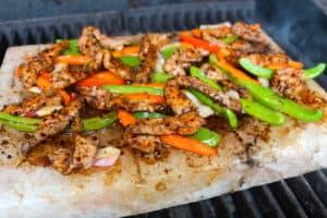 TEC Grills Salt Block Grilling Recipes and Tips - Salt Block Fajitas