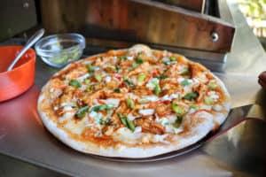 TEC Grills Pizza Recipes - Buffalo Chicken Pizza