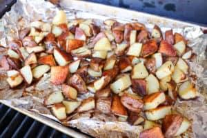 TEC Grills Smoke Roasted Leg of Lamb - Rosemary Smoked Potatoes