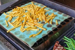 TEC Grills Infrared Pizza Rack - French Fries on the Grill