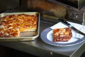 TEC Grills Favorite Kind of Pizza Sicilian