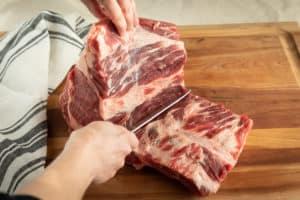 TEC Grills Standing Rib Roast Cut Ribs Off Bone