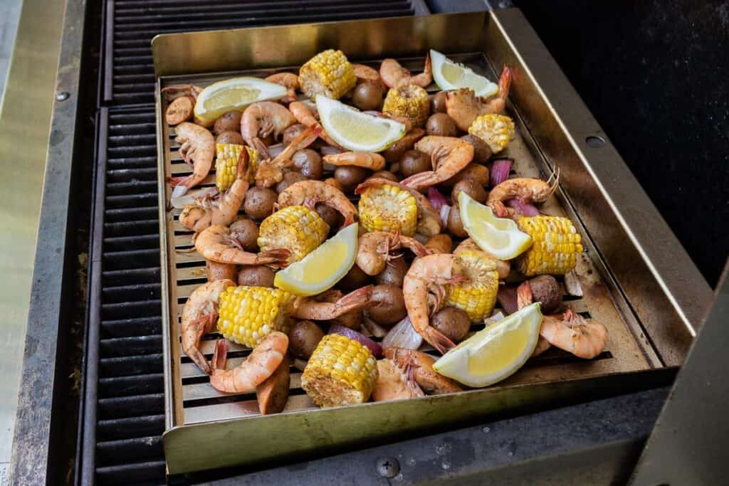 TEC Grills Spicy Lowcountry Boil Recipe